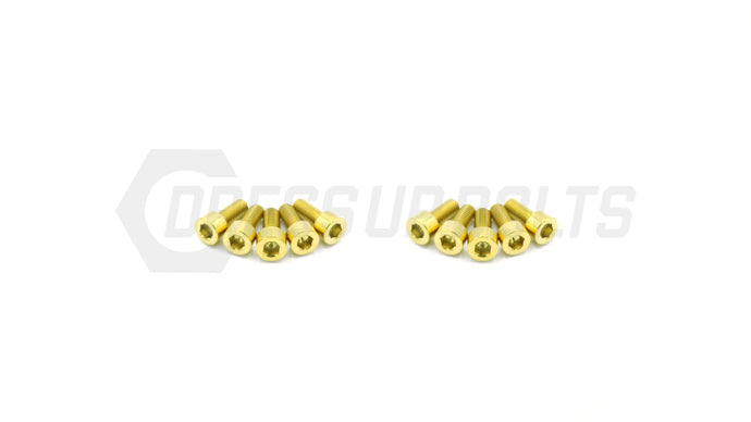 2JZ-GTE Non-VVTI Titanium Dress Up Bolts Coil Pack Cover Kit - DressUpBolts.com