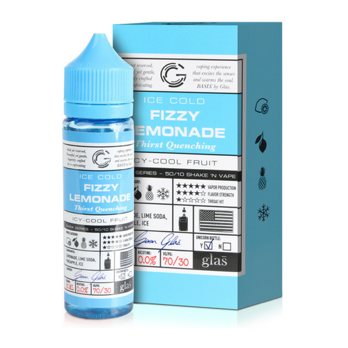 Fizzy Lemonade E-Liquid By Glas 50ml Short Fill