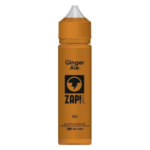 Ginger Ale E-Liquid By Zap! 50ml Short Fill