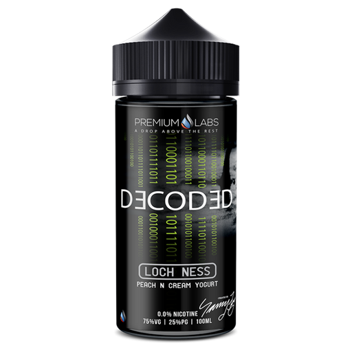 Decoded - Loch Ness E-Liquid By Premium Labs 120ml Short Fill