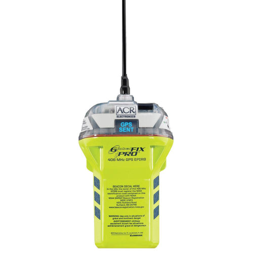 ACR GlobalFix™ iPRO 406 MHz GPS EPIRB - Category 2