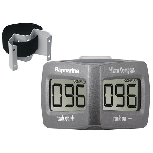 Raymarine Wireless Micro Compass System w-Strap Bracket