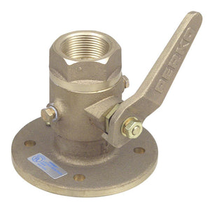 "Perko 1"" Seacock Ball Valve Bronze MADE IN THE USA"