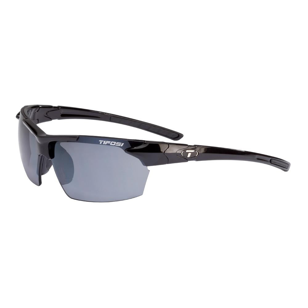 Tifosi Jet Single Lens Sunglasses - Gloss Black