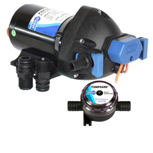 Jabsco Par-Max Shower Drain-General Purpose Pump - 3.5GPM-25psi-12VDC - w-Strainer