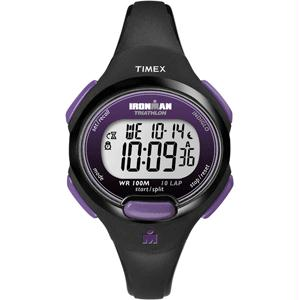 Timex IRONMAN® 10-Lap Watch - Mid-Size - Purple-Black