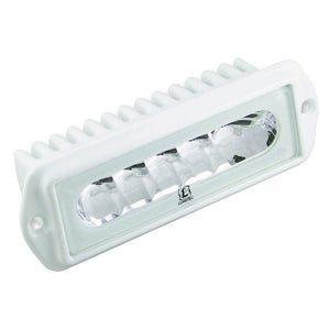 Lumitec Capri2 - Flush Mount LED Flood Light - 2-Color White-Red Dimming