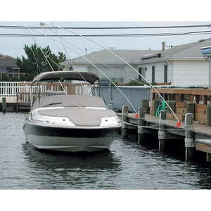 Monarch Nor'Easter 2 Piece Mooring Whips f-Boats up to 23'