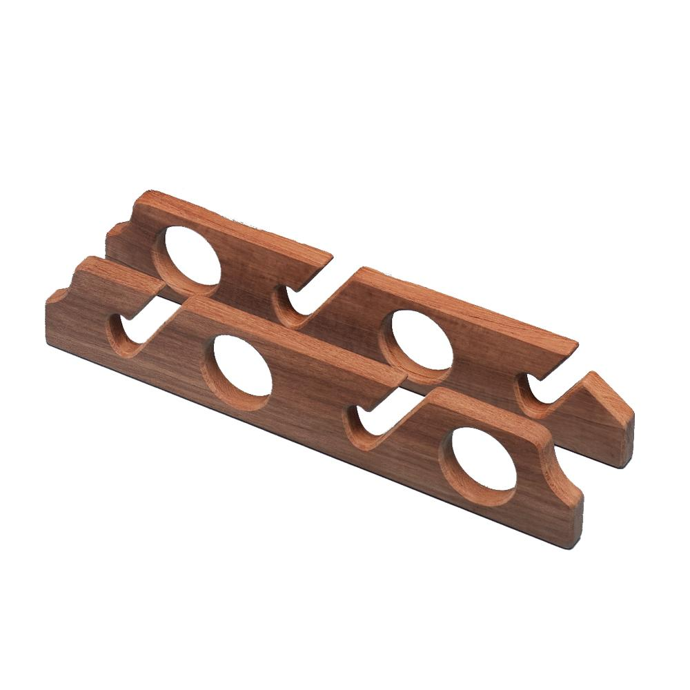 Whitecap Teak Four-Rod Storage Rack - Pair
