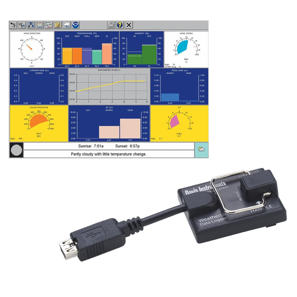 Davis 6520 WeatherLink f-Vantage Pro2™ & Vantage Vue® - MAC OS X Version