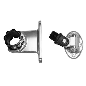 "Rupp Standard Antenna Mount Support w-4-Way Base & 1.5"" Collar"