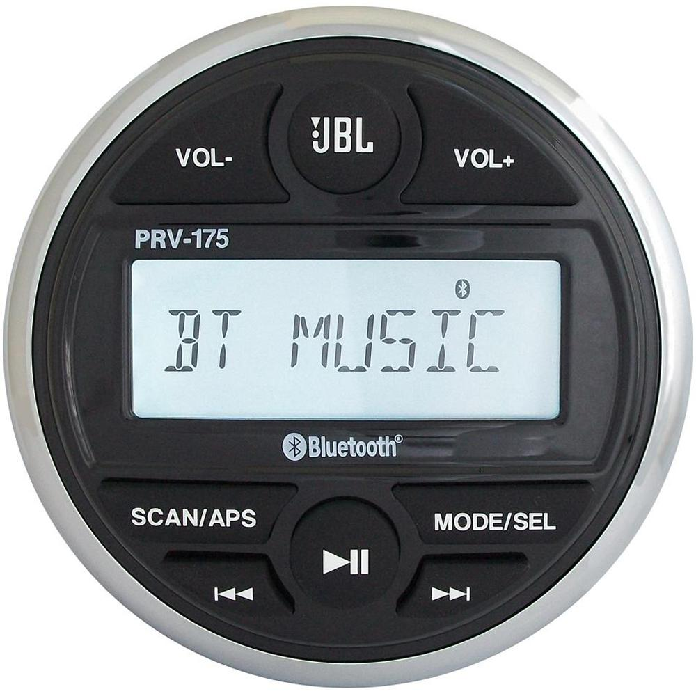 JBL PRV 175 AM-FM-USB-Bluetooth® Gauge Style Stereo