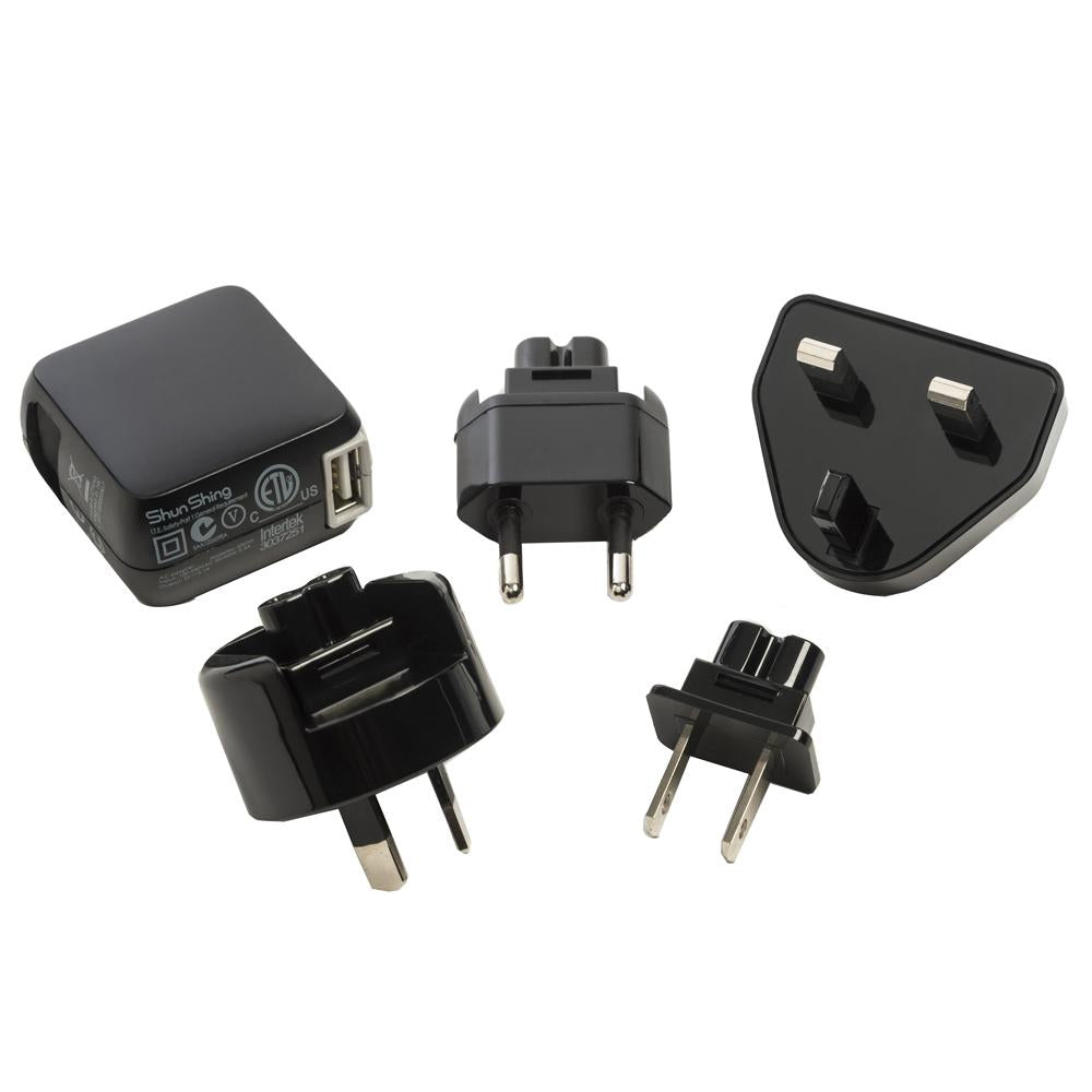 Iridium GO!® AC Charger w-International Adapters