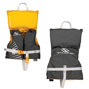 Stearns Infant Classic Nylon Vest Life jacket - Up to 30lbs - Gold Rush