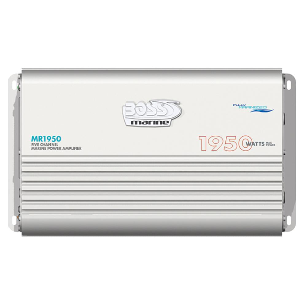Boss Audio MR1950 Marine 5 Channel Full Range Class A-B Power Amplifier - 1950W