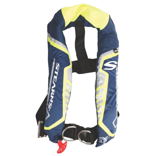 Stearns C-Tek 38G A-M Inflatable Life Vest - Blue-Yellow