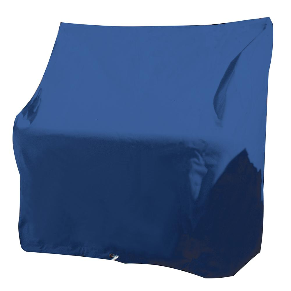 Taylor Made Large Swingback Boat Seat Cover - Rip-Stop Polyester Navy