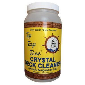Tip Top Teak Crystal Deck Cleaner - Half Gallon (4lbs 3oz)