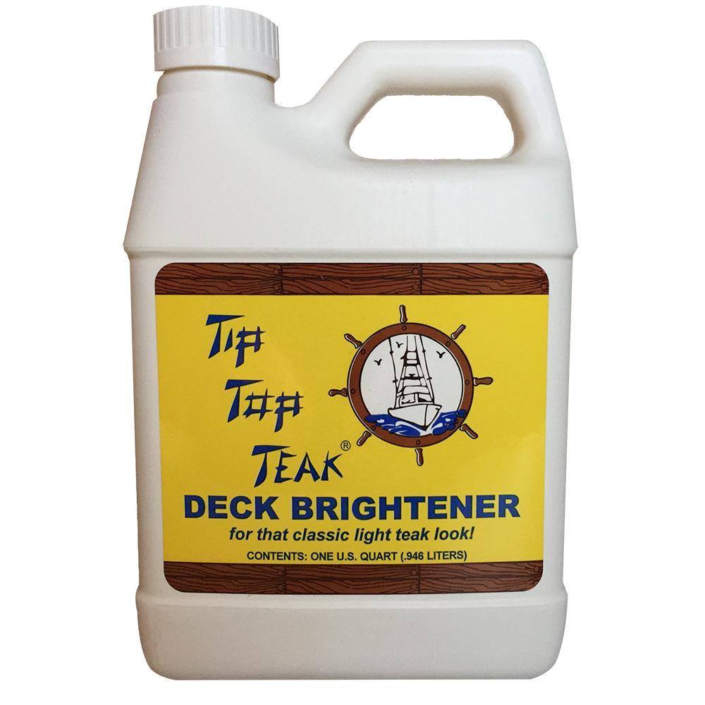 Tip Top Teak Deck Brightener - Quart