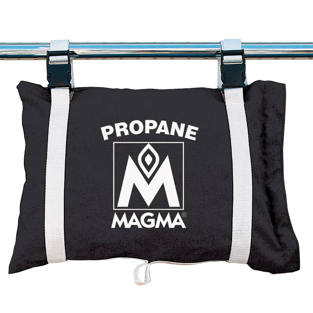 Magma Propane -Butane Canister Storage Locker-Tote Bag - Jet Black