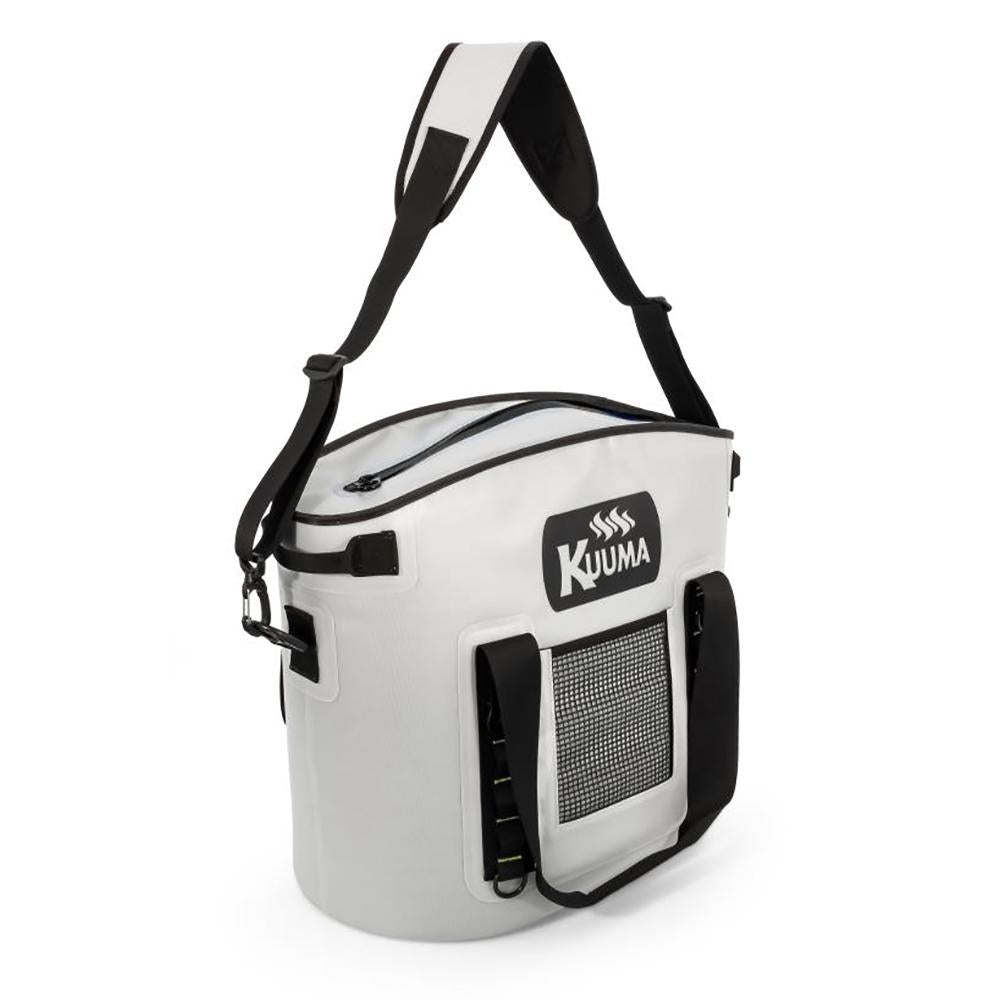 Kuuma 33 Quart Soft-Sided Cooler w-Sealing Zipper - Waterproof Coated Nylon