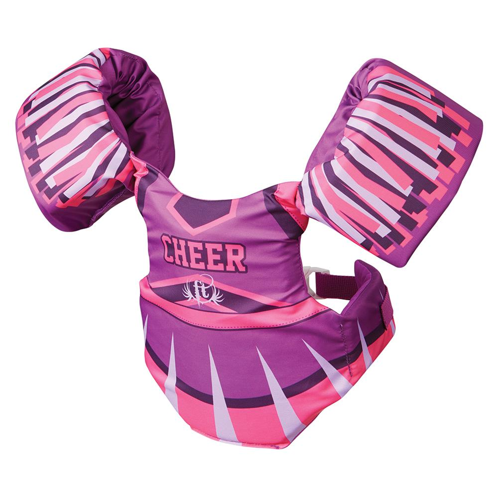 Full Throttle Little Dippers Life Jacket - Cheerleader