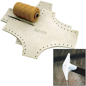 Edson Leather Spreader Boots Kit - Medium