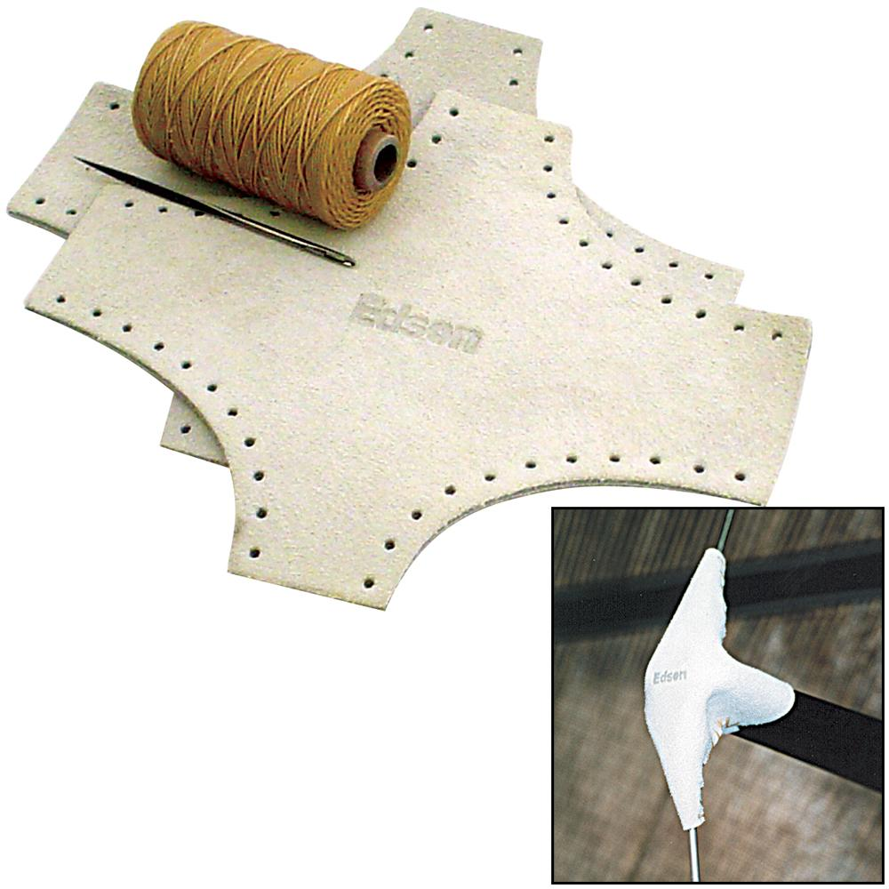 Edson Leather Spreader Boots Kit - Small