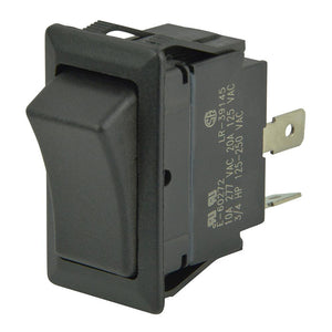 BEP SPST Sealed Rocker Switch - 12V-24V - (ON)-OFF