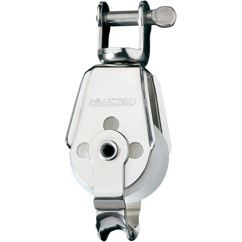 Ronstan Series 30 Utility Block - Single, Becket, Swivel Shackle Head