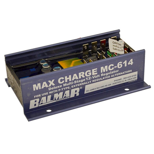 Balmar Max Charge MC-614 Multi-Stage Regulator w-o Harness - 12V