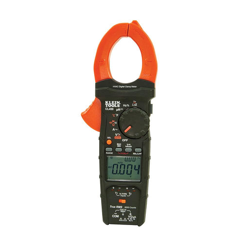 Klein Tools HVAC Clamp Meter w-Differential Temperature