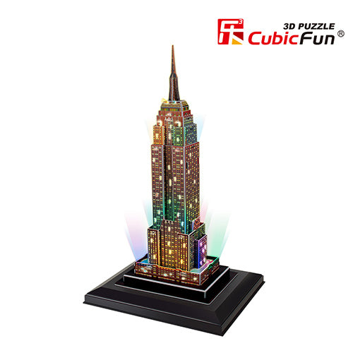Cubic Fun Empire State Building με Φωτισμό Led (USA) 38pcs