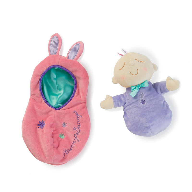 Manhattan Toy Snuggle Pods Snuggle Bunny Ροζ