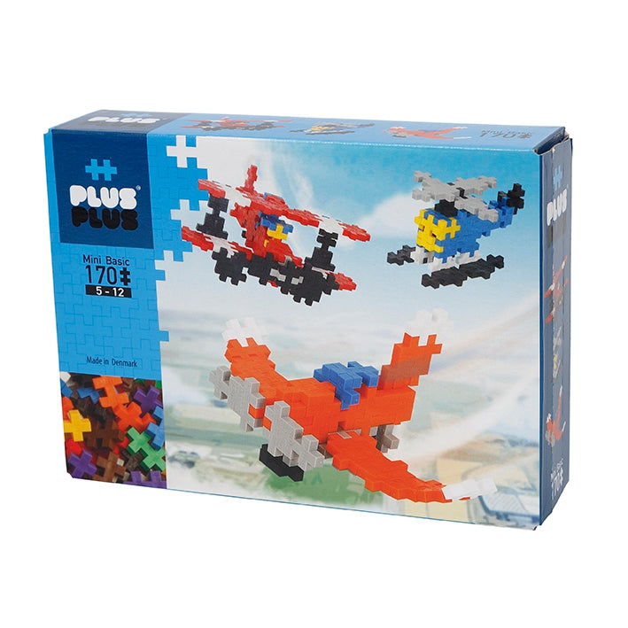 Plus Plus Mini Basic 170 Airplanes