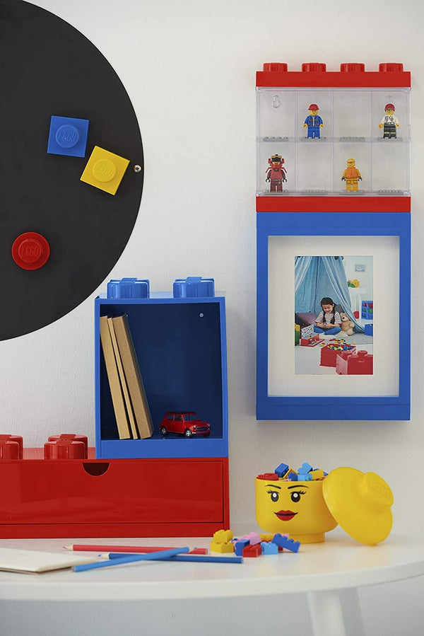 Lego Storage Head Boy Mini