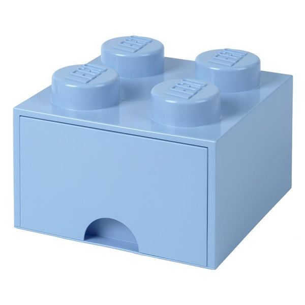 Lego Storage Brick Drawer Light Blue 25 x 25 x 18 Παιχνιδόκουτο