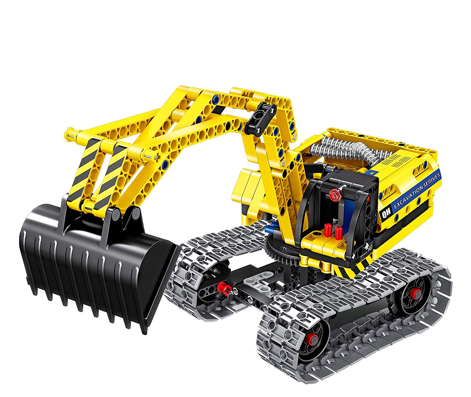 Mechanical Masters-Συναρμολογούμενο Construction Excavator & Robot 2-1