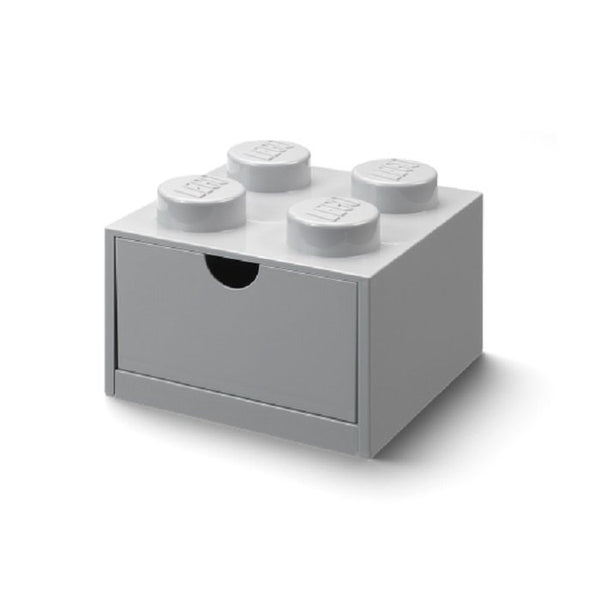 Lego Storage Desk Drawer Light Grey 15.8 x 15.8 x 11.3