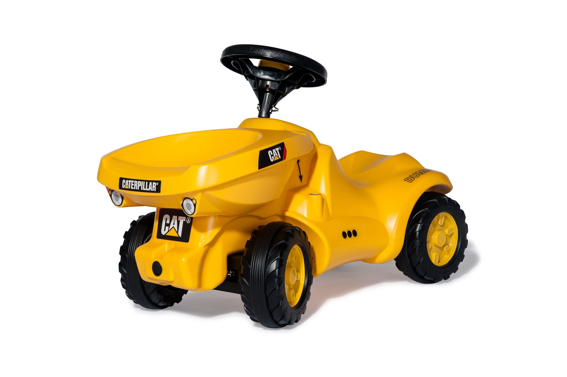 Rolly Toys Ποδοκίνητο Ride on Minitrac Dumper Caterpillar