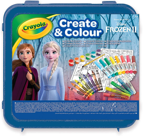 Crayola Frozen 2 Create and Colour Case
