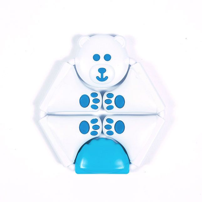 Fat Brain Toys Dimpl Twistimals - Bear