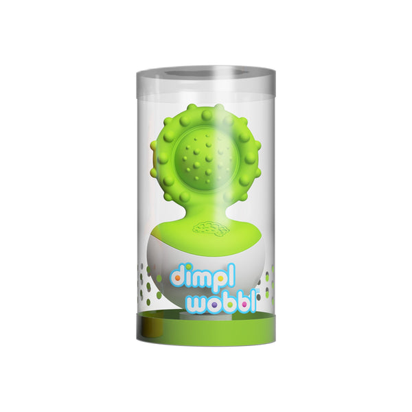 Fat Brain Toys - Dimpl Wobbl Green