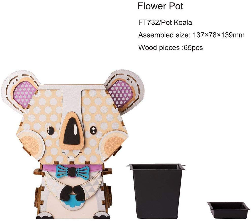 "Robotime Flower Pot ""Koala """