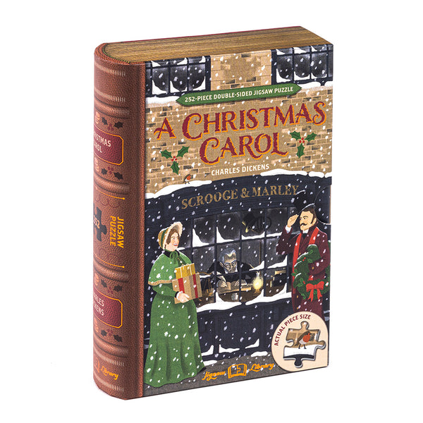 A Christmas Carol – 252 Piece Double-Sided Jigsaw