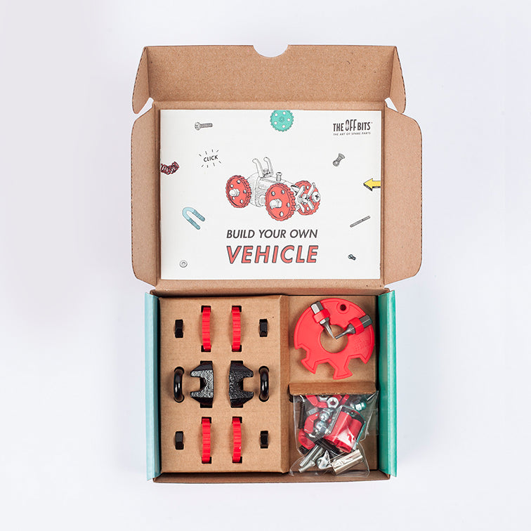 The Offbits Red Vehicle Kit FormulaBit