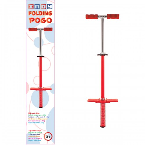 Indy Folding Pogo Stick Κόκκινο