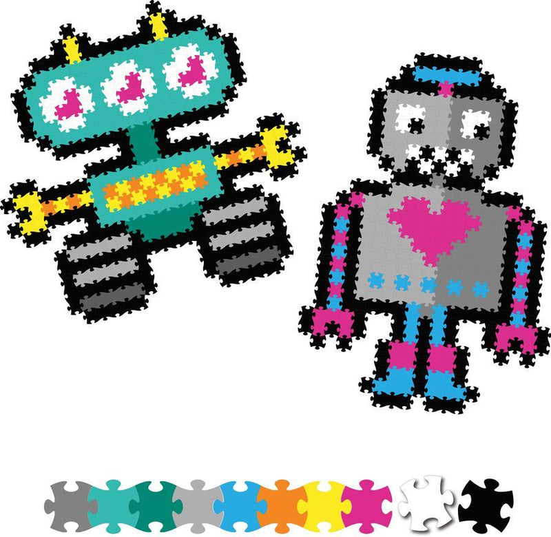 Fat Brain Toys - Jixelz 700pcs Set - Roving Robots