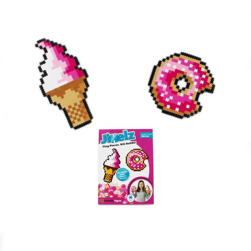 Fat Brain Toys - Jixelz 700pcs Set - Sweet Treats