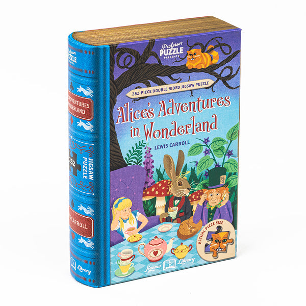 Alice In Wonderland – 252 Piece Double-Sided Jigsaw
